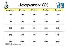 Quiz Game: Jeopardy (2)