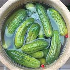 Sides - Dill Pickle Recipe