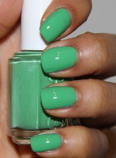 "Essie ""Mojito Madness"" - on my nails 7/6/12."