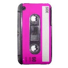 80's Pink Label Cassette iPhone 3 Case-Mate Case