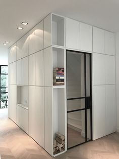 EDHA Interieur Amsterdam - Inspiration Door Design, House Design, Steel Frame Doors, Home Furniture, Furniture Design, Moderne Pools, Interior Architecture, Interior Design, Minimal Living