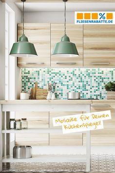 Jasba Kauri Mosaik 2x2 Aquagrün Mix