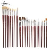 Artist Paint Brushes - 25 Piece Set Best Brushes, Paint Brushes, Hobby Lobby, Art Supplies, College, Tableware, Artist, Painting, School Supplies