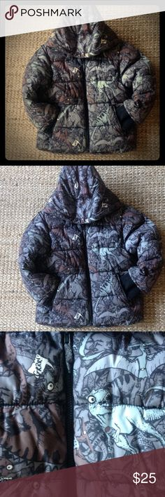 H&M winter coat❄️❄️ dinosaurs print Good condition, minor signs of wear H&M Jackets & Coats Puffers