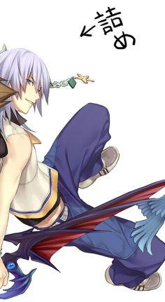 Riku, my sexy man from Kingdom Hearts :P