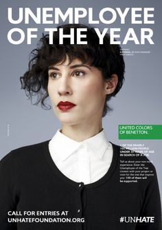 BenettonUnhate-unemploye of the Year 8
