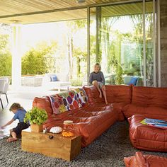 Look at these sliding glass walls! If you had a screened in patio & pool, it would be great & the only possible way to live in FL w/out mosquitos.