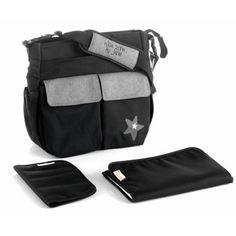 Tašky a textil ku kočíkom Kids Zone, Gym Bag, Backpacks, Color, Products, Changing Bag, Gray, Black People, Pockets
