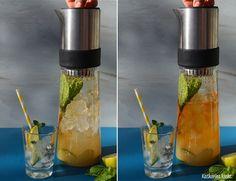 Green Tea Mule Cocktail mit dem TEA-JAY Eisteebereiter auf www.katharinakocht.com