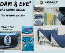 Ebook - Tasche Adam & Eva Kombi