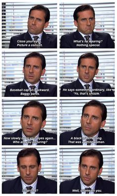 a little lesson about racism from michael scott