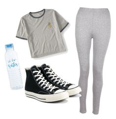 """""""Untitled #303"""" by mirka-smalova on Polyvore featuring Aéropostale, Boohoo and Converse"""
