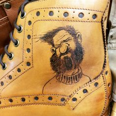 Real Tattoo, Tattoo You, All Tattoos, Timberland Boots, Mens Fashion, Leather, Accessories, Shoes, Zapatos