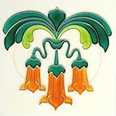 art nouveau tile - - Yahoo Image Search Results