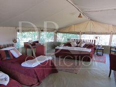 Very comfortable living on Safari in Kenya