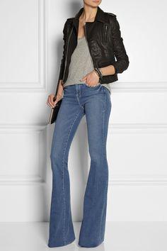 Frame Denim | Le High Flare high-rise jeans | NET-A-PORTER.COM ...