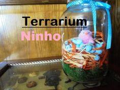 Tutorial de Páscoa - Terrarium com ninho - YouTube