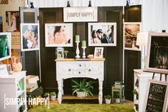 Los Angeles Wedding Photography  | Bridal Show Booth Design