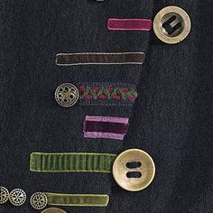 Asymmetric Ribbon Trimmed Jacket - Women's Clothing, Unique Boutique Styles & Classic Wardrobe Essentials