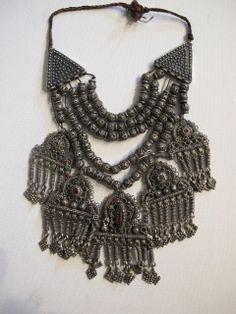 Kashmiri pendant necklace.