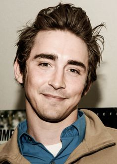 Lee Pace. If you don't know who he is, you're doomed because he is the elf's king, Thranduil!