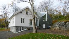 Driv Arkitekter | Bestemorstua Cabin Old and new Exterior Architecture Arkitektur Oslo Norway Home Fashion, Shed, Outdoor Structures, Cabin, Oslo, Architecture, House Styles, Home Decor, Modern