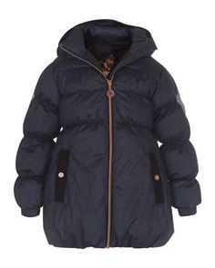 b41d00bd3 Hestia Hooded Puffer Jacket, Blue, Size 4-10 by molo at Neiman Marcus