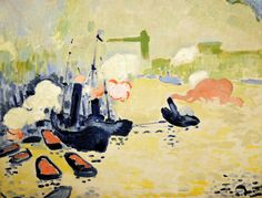 Andre Derain - View of the Thames, 1906