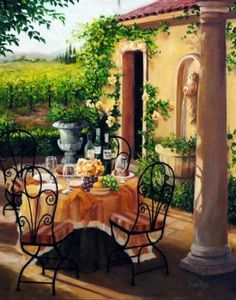 Under The Tuscan Sun - by Susan Rios (63 pieces)
