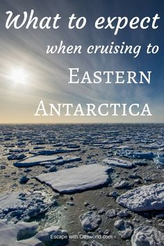 What to expect when cruising to Eastern Antarctica on the Spirit of Enderby, and why so few people go there. via @Ottsworld