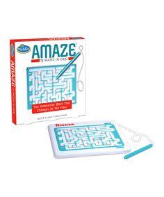 Look what I found on #zulily! ThinkFun Amaze Game by ThinkFun #zulilyfinds
