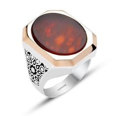 I share with you, beautiful designed silver rings for men in this photo gallery.