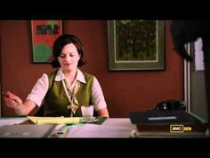Mad Men's Peggy Olson asks to be dazzled.