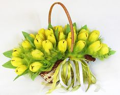 Tulips candy bouquet #candy #bouquet #tulip