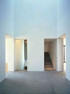 David Chipperfield, Private House, Berlin, 1996, blue