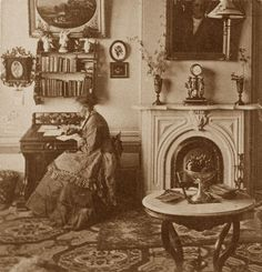 Mills College office 1880's by gaswizard, via Flickr