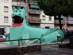 Dragón de La Elipa (Madrid)