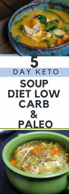 5 Day Keto Soup Diet – Low Carb & Paleo!!