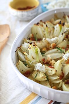 The Noshery | Viadalia Onion Flowers with Bacon Sherry Vinaigrette | http://thenoshery.com