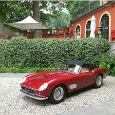 "1,983 Likes, 15 Comments - @ferrari.classic on Instagram: ""Ferrari 250 GT California Spider Prototype  By: @buulbii  #ferrari #ferrariclassic #classic #car…"""