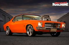 Supercharged 1972 Holden HQ-Monaro Coupe