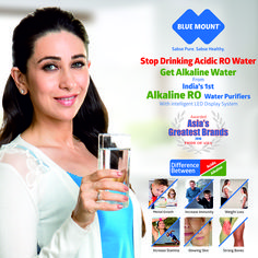 Stop Drinking Acidic RO Water Get Alkaline Water from India's 1st Alkaline RO Water Purifiers With intelligent LED Display System. Call for Free Home Demo 095608 90061 visit us www.bluemountro.com #Alkalinewater #Alkalinewatermachine #benefitsofalkalinewaterinhumanbody