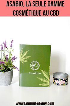 ASABIO, la seule gamme cosmétique au CBD, 100% biologique