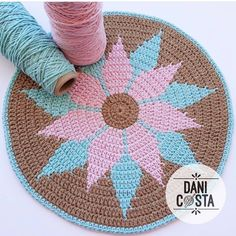 1 million+ Stunning Free Images to Use Anywhere Crochet Squares, Crochet Motif, Crochet Doilies, Crochet Stitches Patterns, Crochet Designs, Stitch Patterns, Crochet Home, Crochet Baby, Knit Crochet