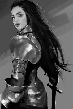 DRESSED TO KILL Fantasy Art Believable Armor   YANG•Z aka 杨 哲