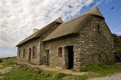 The Famine Cottage, Slea Head Drive, Fahan, Ventry, Dingle, Co. Kerry