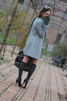 Fashion blogger, Fashion blog, Maggie Dallospedale fashion diary, fashion outfit, Grey Shades Winter Outfit, The Gray on Gray Look, 1