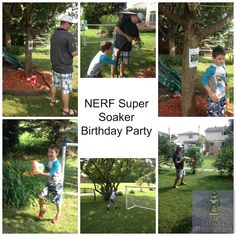 Mr. J's 8th birthday was a video game/water fight party! Super fun!!!