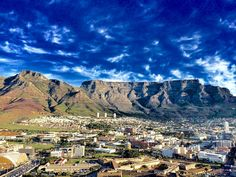 Table Mountain, Cape Town, Wonders Of The World, Mount Everest, Westerns, Most Beautiful, Mountains, City, Nature