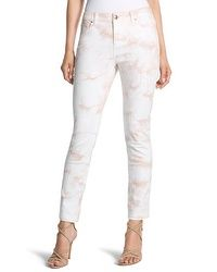 So Slimming Tie-Dye Ankle Jeans #chicos